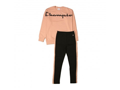 Champion Fleece Crewneck Suit Girl 404001-PS144