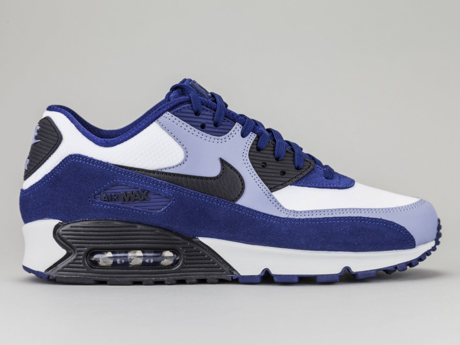 air max 90 uomo blu e white