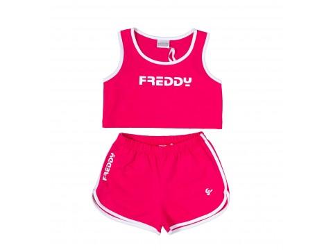 Freddy Completo Canotta e Shorts Bambina FR0134-003