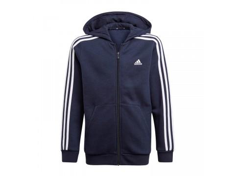 Adidas Essentials 3-Stripes Zip Up Hoodie Kids GQ8902