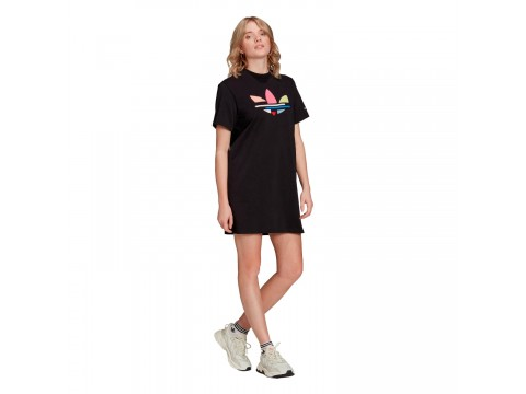 Dress adicolor Shattered Trefoil Tee Women H22845