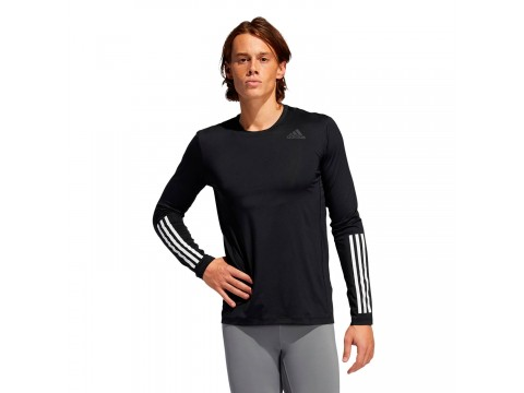 Long Sleeve adidas Performance Techfit 3 Stripes Fitted Men GL0459