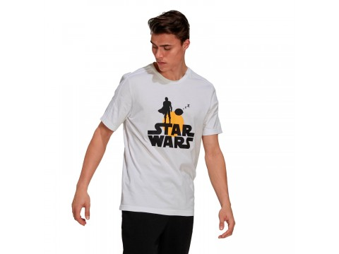 T-shirt adidas Performance x Star Wars: The Mandalorian Graphic Men GS6223