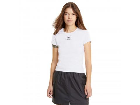 T-shirt Puma Classics Fitted Tee Woman 599577-02