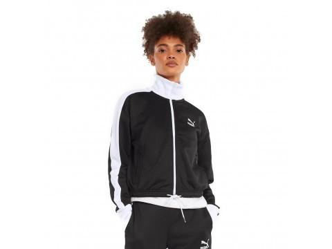Sweatshirt with Zip Puma Tape In Contrast Women 531623-01