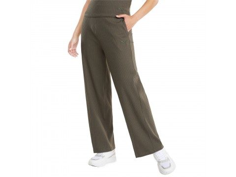 Pants Puma HER Ribbed Wide Women 589525-44