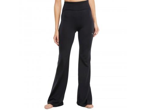Pants Puma STUDIO Yogini Rib Waist Flare Women 520982-01