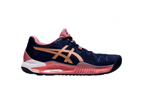 Tennis Shoes Asics Gel Resolution 8 Clay Woman 1042A070-404