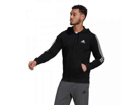 Giacca da allenamento adidas Performance Essentials Fleece Cut 3-Stripes Uomo GK9585