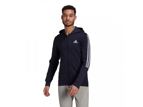 adidas Performance Essentials Fleece Cut 3-Stripes Men's Training Jacket GK9587