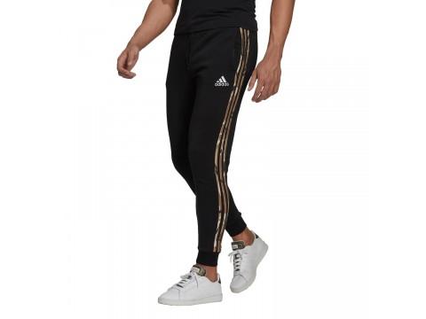 adidas Performance Essentials Fleece Camo-Print Men's Trousers GV2125