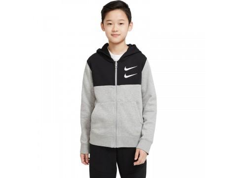 Nike Hoodie and Full Zip Swoosh Boy CU9206-063
