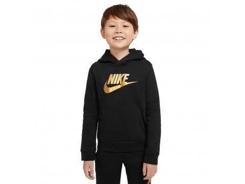 Felpa pullover con cappuccio Nike Sportswear Club Fleece Ragazzo CJ7861-013