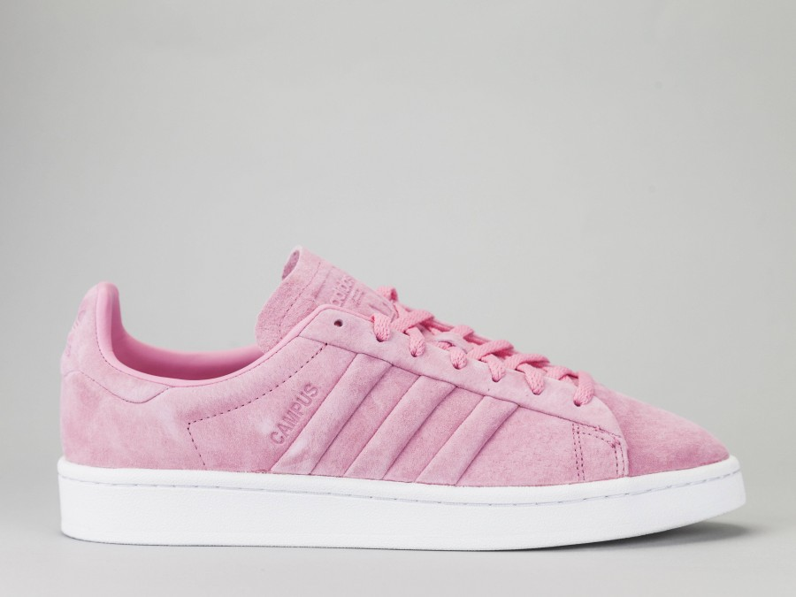 adidas campus rosa donna