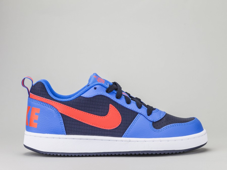 NIKE COURT BOROUGH LOW GS Ragazzo 839985 404 Colore AZZURRO Nike Taglia Calzature 40