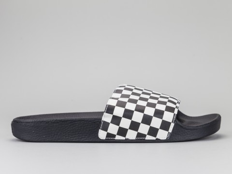 VANS SLIDE-ON CHECKERBOARD Uomo VN0004KIIP9