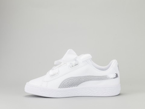the latest a721b c8eec PUMA BASKETBALL HEART BLING PS Girl 366848-02