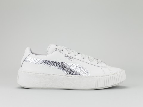 PUMA BASKET PLATFORM BLING PS Girl 367238-02