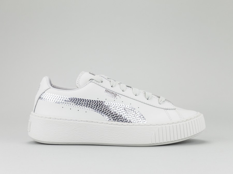 PUMA BASKET PLATFORM BLING PS Bambina 367238 02
