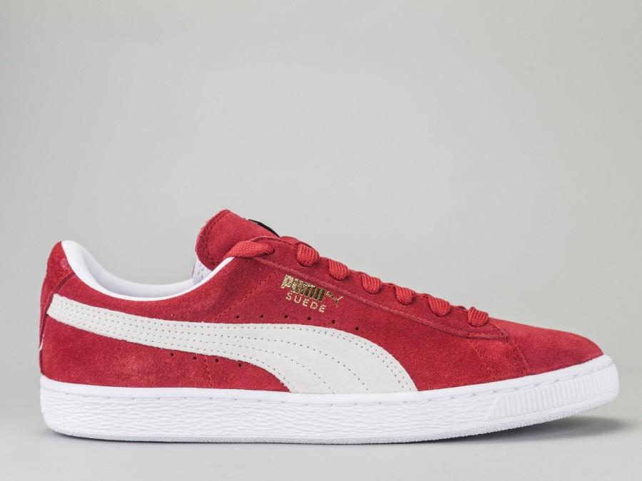 best service 9404b 333ab PUMA SUEDE CLASSIC Men's 352634-65 Color RED Puma Size Shoes 41