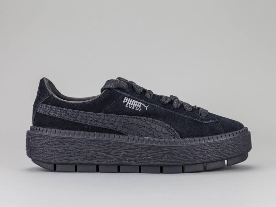 puma sneaker suede platform trace animal