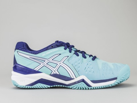 Asics Gel Resolution 6 Clay Court Men's Tennis Shoe | E503Y