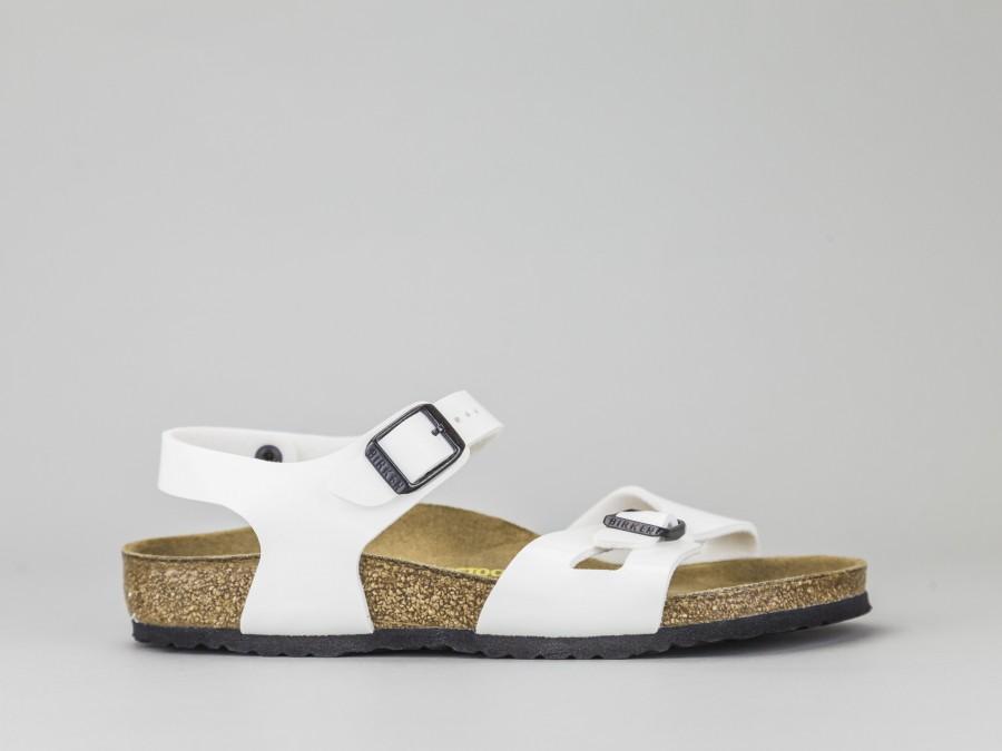 separation shoes 0490a 934b7 BIRKENSTOCK RIO KIDS 931133 Colore BIANCO Birkenstock Taglia Calzature 24