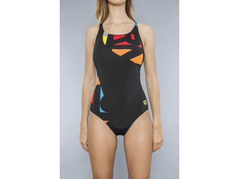 ARENA ODENSE PANEL ONE PIECE Swimsuit Woman 2A35250