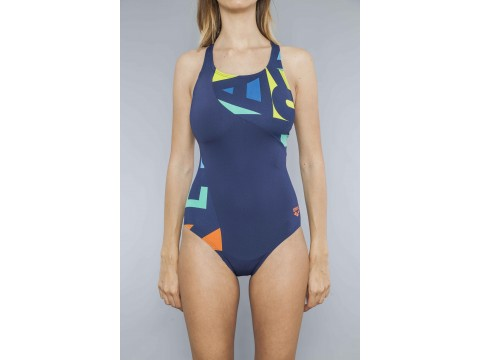 ARENA ODENSE PANEL ONE PIECE Swimsuit Woman 2A35270