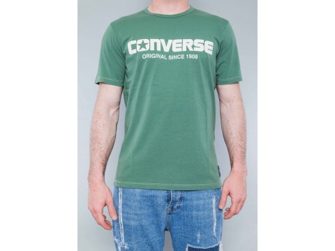 CONVERSE T-SHIRT SS CREW CONVERSE ALL STAR Man 10017571-A04
