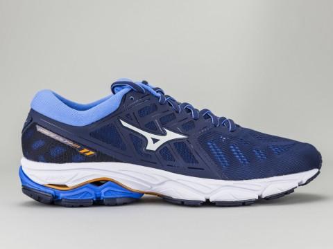Scarpe corsa running uomo MIZUNO Wave Ultima tela blu e bianco J1GC190902