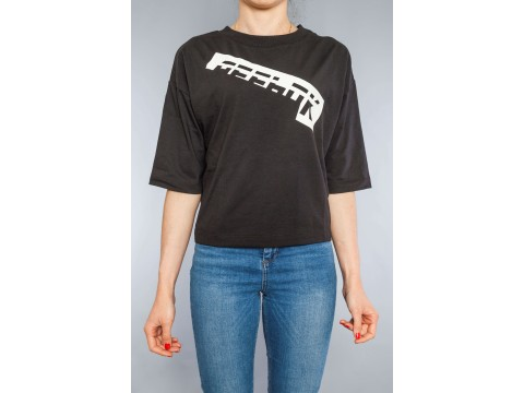 REEBOK CROSSFIT T-SHIRT WOR MEET YOU THERE GRAPHIC Woman DU4869