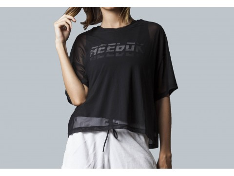 REEBOK T-SHIRT WOR MEET YOU THERE LAYERING Woman DU4851