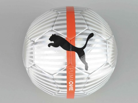 PUMA ONE CHROME SOCCER BALL 082821-01