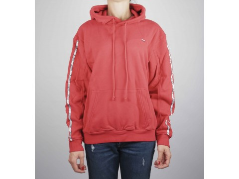 LEVI'S RED HOODIE Woman 74318-0024