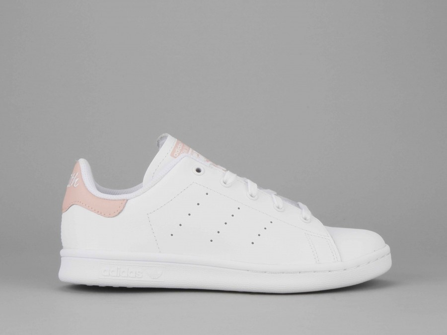 Adidas Originals Little Girl's White Shoes | Stan Smith