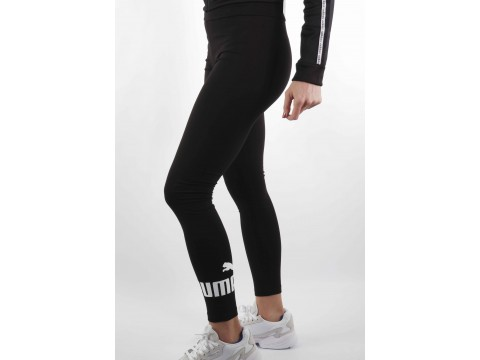 PUMA LEGGINGS WITH LOGO ESSENTIALS Woman 851818-01