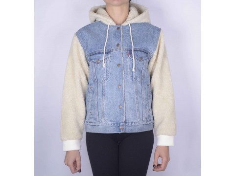 giacca jeans donna levis