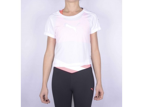 PUMA CROPPED T-SHIRT TRAINING 518330-07