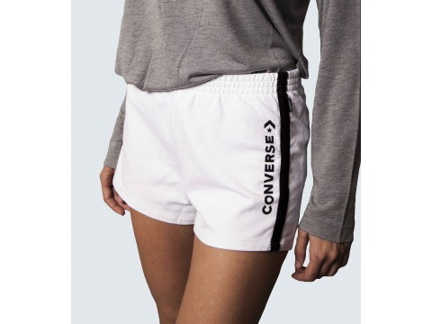 CONVERSE FLEECE PANT SHORTS Woman 10017512-A03