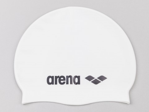 Arena Cap Classic Silicon Blu White and Grey Unisex 9166220