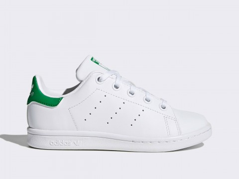 Hacer Significado Perseo  Adidas Originals Stan Smith C Child BA8375 Colour WHITE Adidas Size Shoes 28
