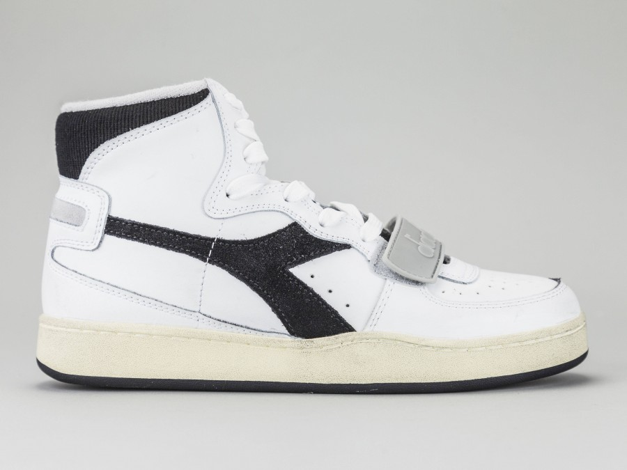 fbb99a29 DIADORA MI BASKET USED Men 174766-C0351 Color WHITE Diadora Size Shoes 40