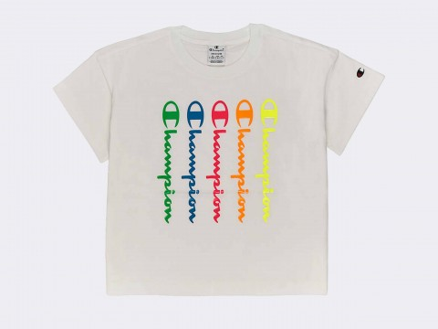 Champion T-shirt American Classic Fluo Woman 112682-WW001