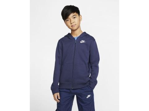 Nike Sportswear Felpa Invernale con Cappuccio e Full Zip Junior BV3699-410