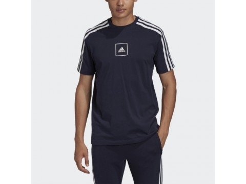 Adidas Peformance T-Shirt 3 Stripes Man FS4306