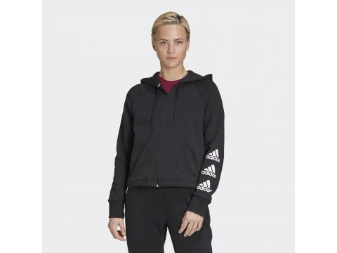 Adidas Performance Fleece Hoodie FG LOGHI Woman GC6919