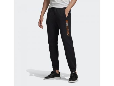 Adidas Originals Pantaloni Felpati Neri Uomo GD5986