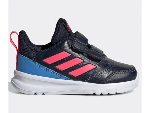 Shoes adidas Performance AltaRun blue for girls G27280