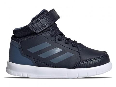 Shoes adidas Performance AltaSport Mid I blue for boys G27129